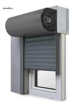 25 Basaltgrau Fenster Rollladen SKO-P Vorbaurollladen Aluprof