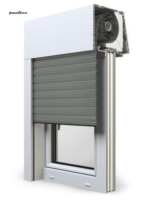 27 Betongrau Fenster Rollladen Elite XT Exte Aufsatzrollladen Aufbaurollladen