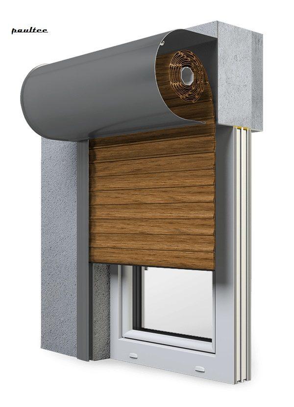 29 Winchester Fenster Rollladen SKO-P Vorbaurollladen Aluprof