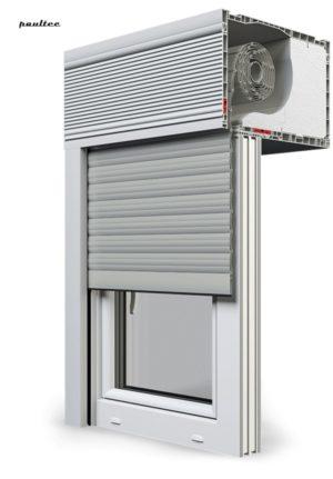 3 Grau Fenster Rollladen CleverBox Beclever