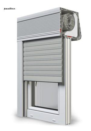 3 Grau Fenster Rollladen CleverBox Soft Beclever