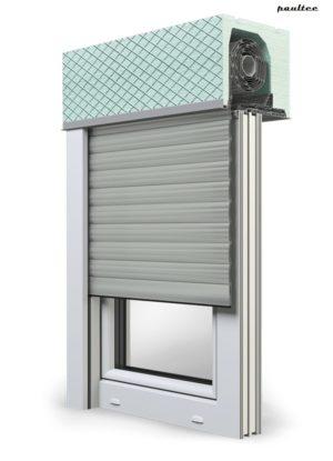 3 Grau Fenster Rollladen ROKA TOP 2 Unterputzrollladen Beck-Heun