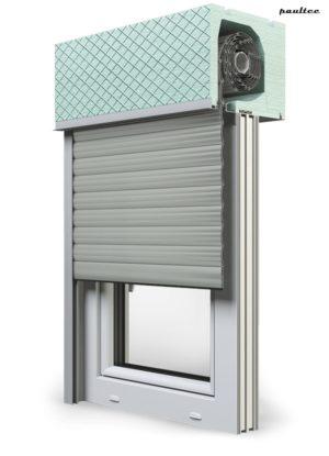 3 Grau Fenster Rollladen ROKA TOP 2RG Unterputzrollladen Beck-Heun