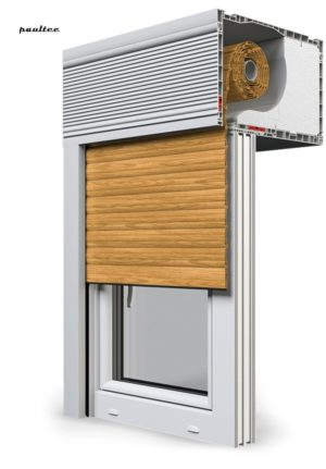7 Holz hell Fenster Rollladen CleverBox Beclever