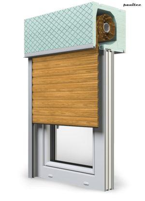 7 Holz hell Fenster Rollladen ROKA TOP 2RG Unterputzrollladen Beck-Heun