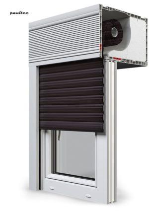 8 Dunkelbraun Fenster Rollladen CleverBox Beclever