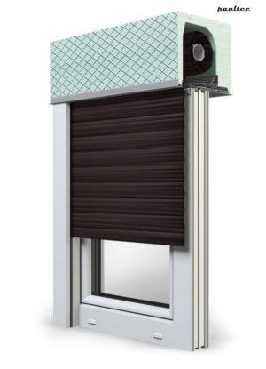 8 Dunkelbraun Fenster Rollladen ROKA TOP 2 Unterputzrollladen Beck-Heun
