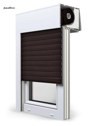 8 Dunkelbraun Fenster Rollladen SKT Opoterm Aluprof