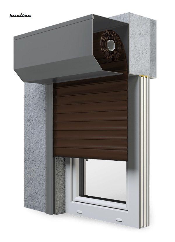 9 Braun Fenster Rollladen SK 45 Vorbaurollladen Aluprof
