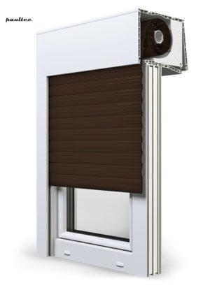 9 Braun Fenster Rollladen SKT Opoterm Aluprof
