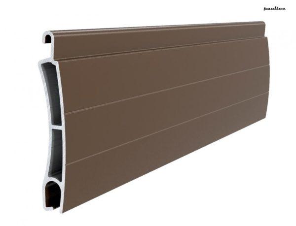 Braun Stranggepresstes PE 41 Aluminiumprofil