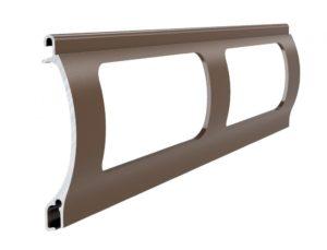 Braun Stranggepresstes PEK 52 Aluminiumprofil Gitter