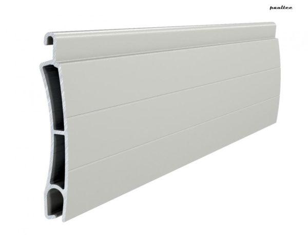 Grau Stranggepresstes PE 41 Aluminiumprofil