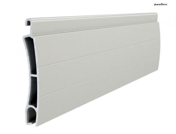 Grau Stranggepresstes PE 55 Aluminiumprofil