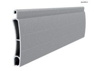 Grau perlmutt matt Stranggepresstes PE 41 Aluminiumprofil