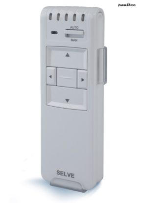 Selve iveo Schnurloser Schalter, Weiß - Rollladen Raffstore Sonnenschutz Garagentore