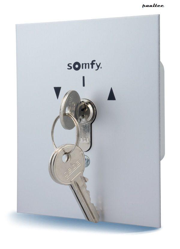 Somfy Schlüsselschalter - Rollladen Raffstore Sonnenschutz Garagentore