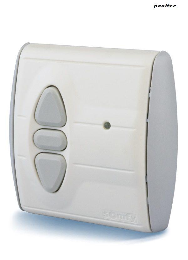 Somfy inteo centralis RTS Schnurloser Schalter - Rollladen Raffstore Sonnenschutz Garagentore