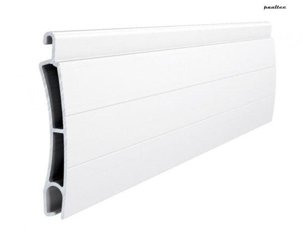 Weiss Stranggepresstes PE 55 Aluminiumprofil