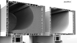 verschiedene Isolationsarten des Boxes für die optimale Anpassung an die klimatischen Bedingungen (Version aus Neopor oder Styropor)